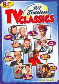 101 Timeless TV Classics - (Region 1 Import DVD)