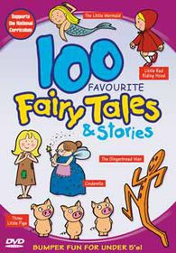 100 Favourite Fairy Tales & Stories (Import DVD)