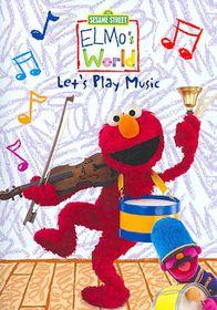 Elmo's World:Let's Play Music - (Region 1 Import DVD)