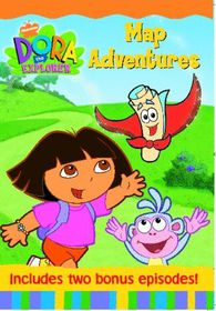 Dora The Explorer: Map Adventure (DVD)