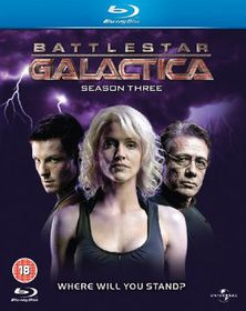 Battlestar Galactica - Series 3 - (Import Blu-ray Disc)