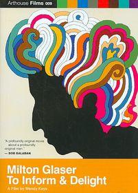 Milton Glaser:to Inform and Delight - (Region 1 Import DVD)