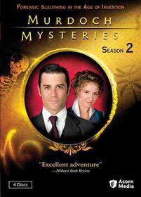 Murdoch Mysteries Season 2 - (Region 1 Import DVD)