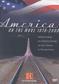 America on the Move:1876-2000 - (Region 1 Import DVD)