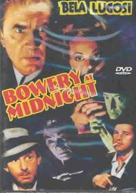 Bowery at Midnight - (Region 1 Import DVD)