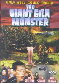 Giant Gila Monster - (Region 1 Import DVD)