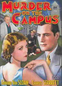 Murder on the Campus - (Region 1 Import DVD)