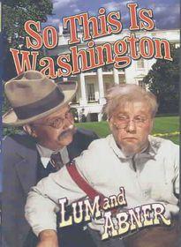 So This Washington - (Region 1 Import DVD)