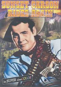 Sunset Carson Rides Again - (Region 1 Import DVD)