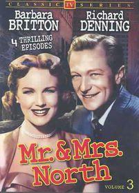 Mr & Mrs North:Vol 3 - (Region 1 Import DVD)