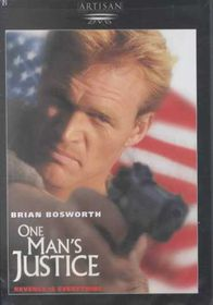 One Man's Justice - (Region 1 Import DVD)