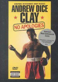 No Apologies - (Region 1 Import DVD)
