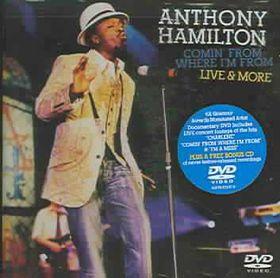 Anthony Hamilton:Live - (Region 1 Import DVD)