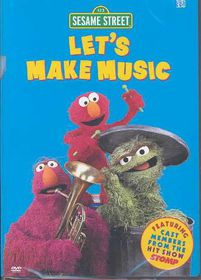 Sesame Street:Let's Make Music - (Region 1 Import DVD)