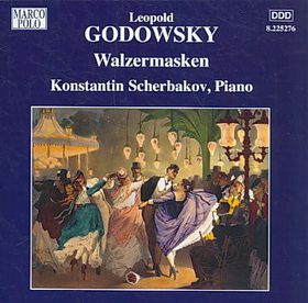 Godowsky: Piano Music Vol 10 - Walzermasken (CD)