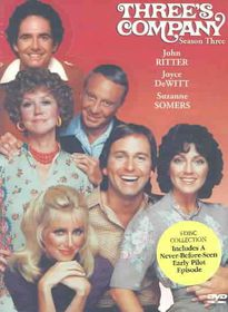 Three's Company: Season 3 (Region 1 Import DVD)