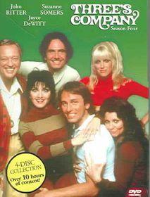 Three's Company:Season 4 - (Region 1 Import DVD)