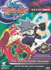 Beyblade Season 3 Vol 2:Revolution - (Region 1 Import DVD)
