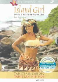 Island Girl Dance Fitness Workout for Beginners: Tahitian Dance Vol 2 Gift Box Set - (Region 1 Import DVD)