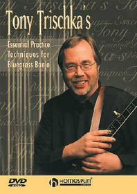 Tony Trischka's Essential Practice Techniques For Bluegrass Banjo - (Region 1 Import DVD)
