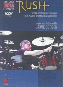 Rush Legendary Licks for Drums - (Region 1 Import DVD)