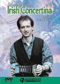 Learn to Play Irish Concertina - (Region 1 Import DVD)