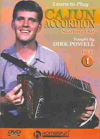 Learn to Play Cajun Accordion Vol 1 - (Region 1 Import DVD)