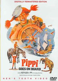 Pippi Goes on Board - (Region 1 Import DVD)