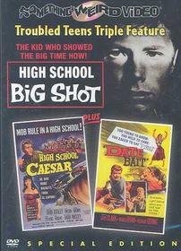 High School Big Shot/High School Caesar/Date Bait - Triple Feature - (Region 1 Import DVD)