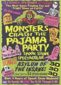 Monsters Crash the Pajama Party - (Region 1 Import DVD)