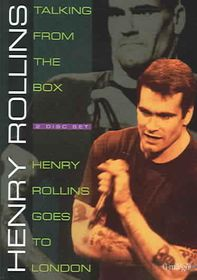 Henry Rollins: Talking from the Box/Henry Rollins Goes to London - (Region 1 Import DVD)
