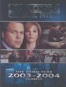 Law & Order:Criminal Intent Season 3 - (Region 1 Import DVD)
