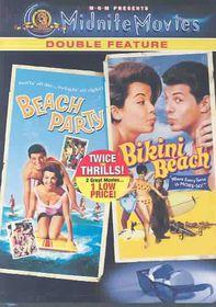 Beach Party/Bikini Beach - (Region 1 Import DVD)
