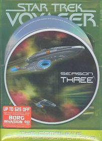 Star Trek:Voyager Complete Third - (Region 1 Import DVD)