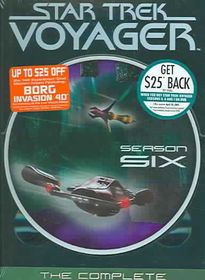 Star Trek:Voyager Complete Sixth - (Region 1 Import DVD)