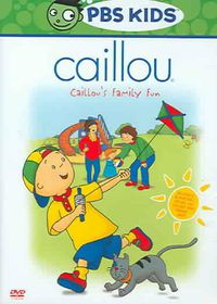 Caillou:Caillou's Family Fun - (Region 1 Import DVD)