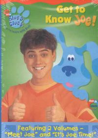 Blue's Clues:Get to Know Joe - (Region 1 Import DVD)