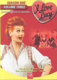 I Love Lucy:Season One Vol 3 - (Region 1 Import DVD)