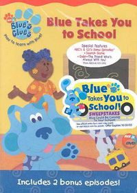 Blue's Clues - Blue Takes You To School - (Region 1 Import DVD)