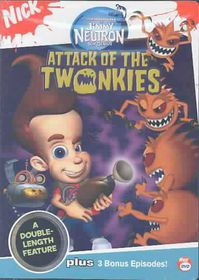 Adventures of Jimmy Neutron: Boy Genius - Attack of the Twonkies - (Region 1 Import DVD)