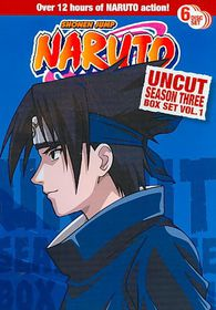 Naruto Uncut Ssn 3 Box Set V1 - (Region 1 Import DVD)