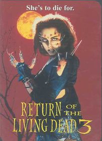 Return of the Living Dead 3 - (Region 1 Import DVD)