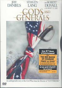 Gods and Generals - (Region 1 Import DVD)