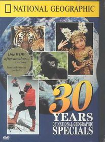 30 Years of National Geographic Specials - (Region 1 Import DVD)
