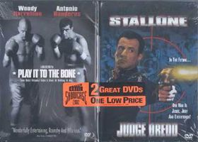 Play It to the Bone/Judge Dredd - (Region 1 Import DVD)