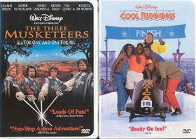 Cool Runnings/Three Musketeers - (Region 1 Import DVD)