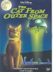 Cat from Outer Space - (Region 1 Import DVD)