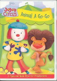 Jojo's Circus:Animal a Go Go - (Region 1 Import DVD)