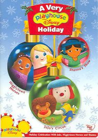 Playhouse Disney Holiday - (Region 1 Import DVD)