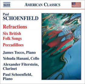 Schoenfield: 5 British Folk Songs - British Folk Songs (CD)